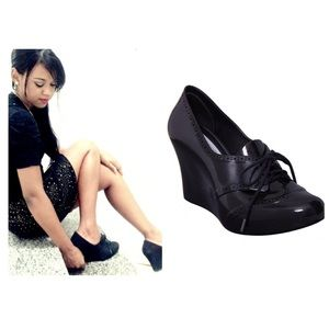 Melissa For Alexandre Herchcovitch Wedge Shoes